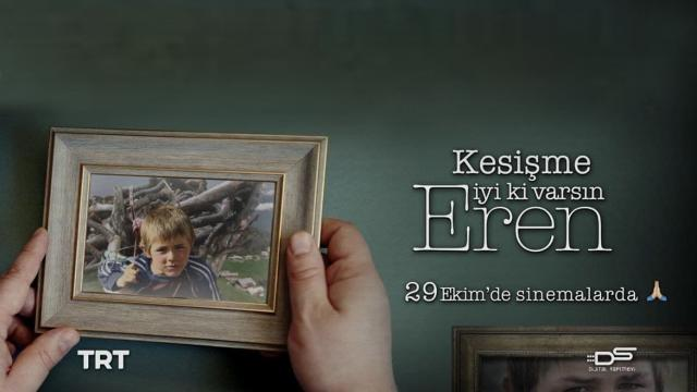TRT ortak yapımı 'Kesişme; İyi ki Varsın Eren' filminin ikinci tanıtımı yayınlandı
