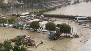 Sinop'taki sel felaketinde kaybolan 6 kişi aranıyor