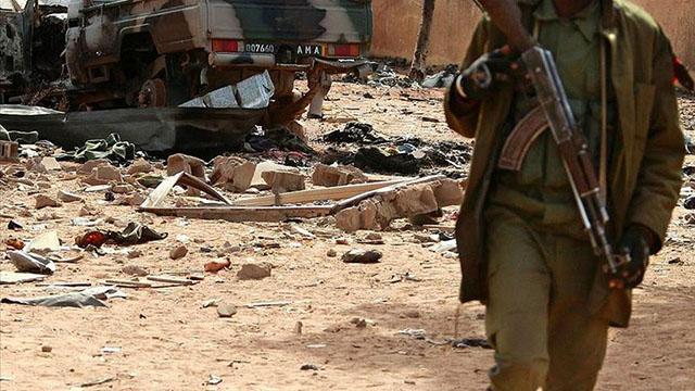Malideki terör saldırısında can kaybı 16ya yükseldi