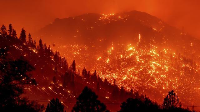 """ABDde """"Caldor"""" yangını: 2 eyalette acil durum ilan edildi"""