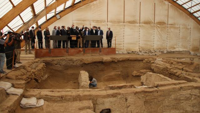Çatalhöyük Tanıtım ve Karşılama Merkezinin temeli atıldı