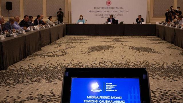 Meclis Müsilaj Komisyonu İstanbulda toplandı