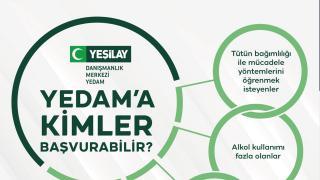 Türkiye'nin dört bir yanında bağımlıların yanında: YEDAM