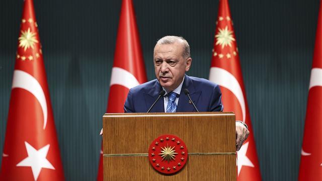 Cumhurbaşkanı Erdoğan: Aşı olmayandan PCR testi isteyeceğiz