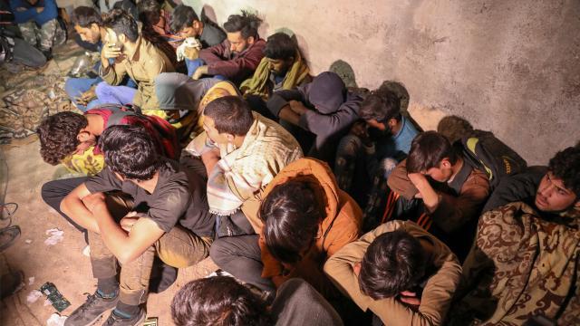 Libyada 500 göçmen yakalandı