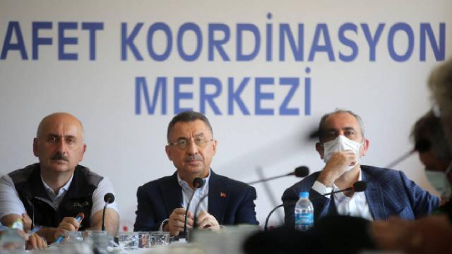 Cumhurbaşkanı Yardımcısı Oktay: Sinopta enerji hatları ve su sorunumuz kalmadı