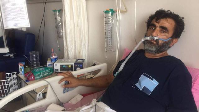 Koronavirüse yakalanan Arslanın aşı pişmanlığı: Şimdi bu yatakta sürünüyorum