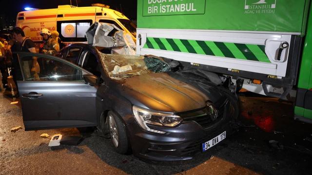 İstanbulda trafik kazası: 5 yaralı