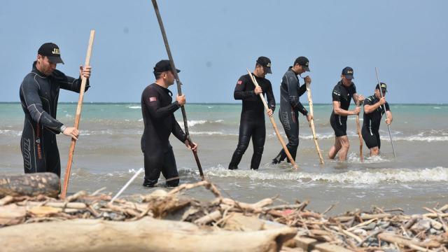 Kağanlar Karadenizde kayıpları arıyor