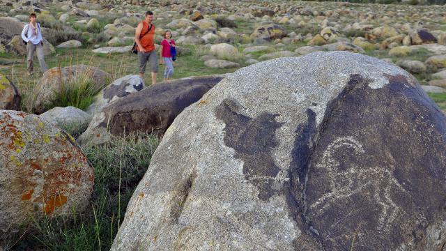 Yeryüzündeki en eski sanat eseri: Çolpon-Ata Petroglifleri
