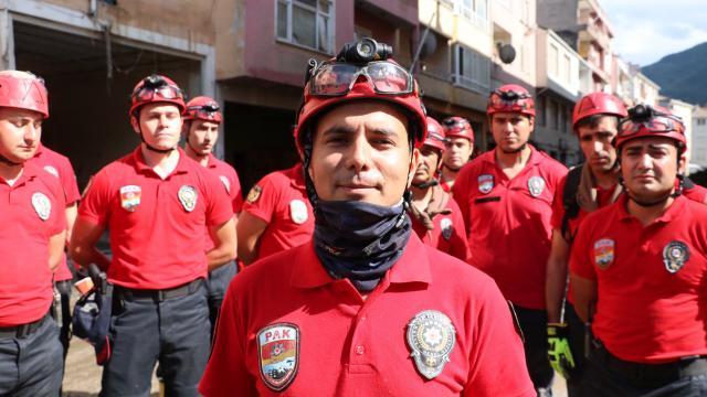 PAK timi, Artvin ve Egenin ardından Bozkurt ilçesinde de vatandaşların yardımına koştu