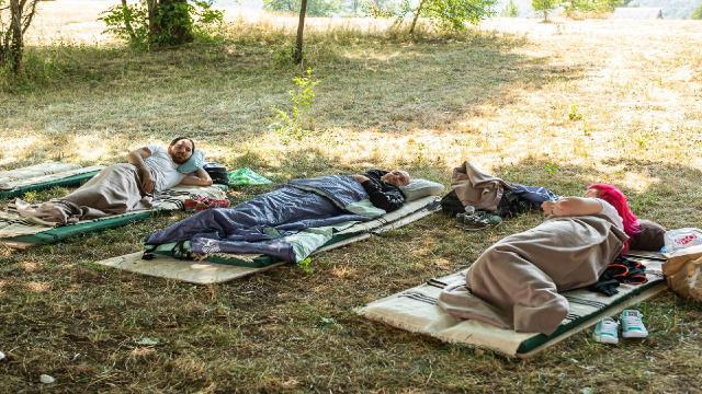 Karadağda en tembel kişi 117 saat yattı