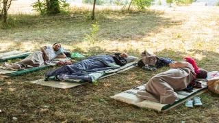 Karadağ'da en tembel kişi 117 saat yattı