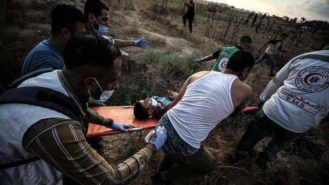 İsrail polisi gerçek mermilerle saldırdı: 41 yaralı