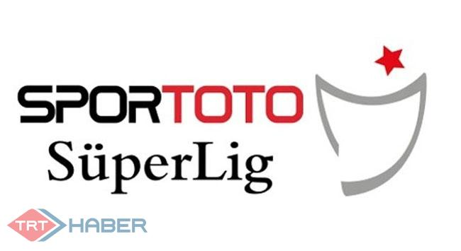 Spor Toto Süper Ligde puan durumu