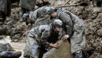 Çin'de heyelan:38 kişi öldü