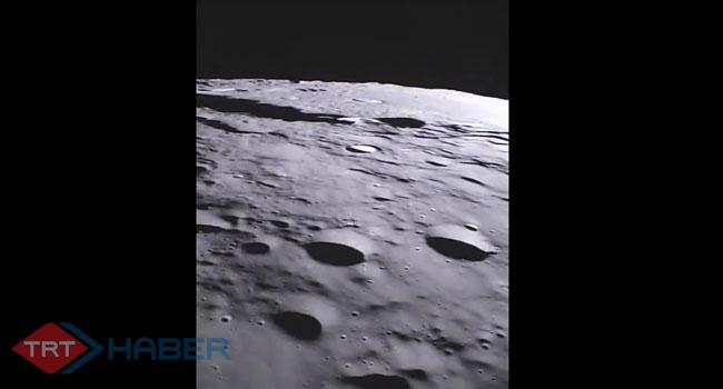 Ayın ilk kez yayınlanan görüntüleri büyüledi