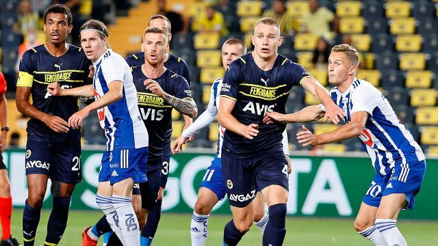 Fenerbahçe tur için HJK Helsinki karşında olacak