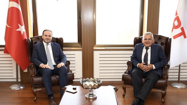 Başkan Büyükkılıçtan TRT yönetimine ziyaret