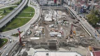 Rize'de dönüşüm başladı: Yeni yapılar kazıklarla sabitlenecek
