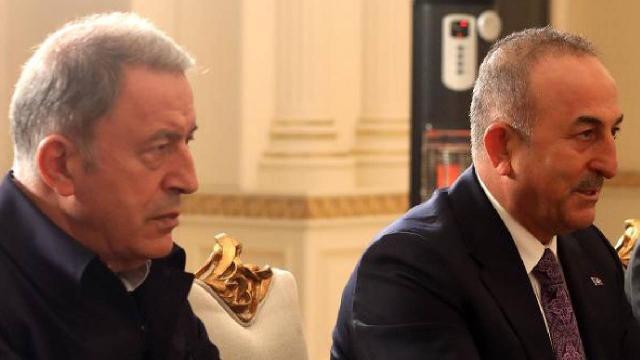 Bakan Akar ve Çavuşoğlu Katarlı mevkidaşlarıyla görüştü