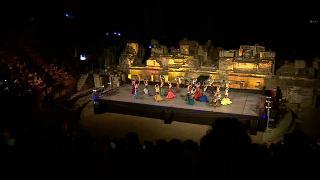 """Efes Antik Tiyatro'daki """"Carmen"""" balesine büyük ilgi"""