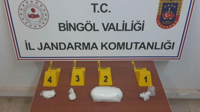 Bingölde uyuşturucu operasyonları: 2 gözaltı