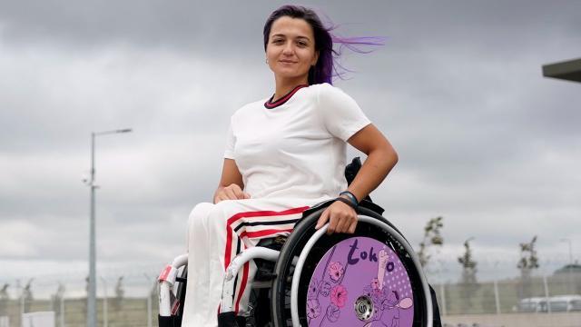 Tekerlekli sandalye tenisinde Büşra Ün elendi