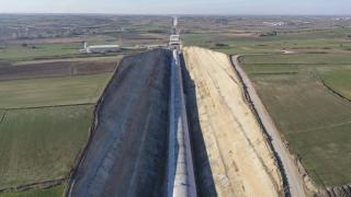 Çerkezköy-Kapıkule demir yolu hattının yüzde 47'si tamamlandı