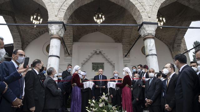 Erdoğan Başçarşı Camiinin açılışını yaptı