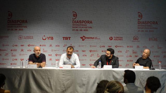 Diaspora Uluslararası Kısa Film Festivalinde kültür aktarımı konuşuldu