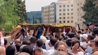 Eski Hamas yetkilisi İbrahim Guşe, Amman'da toprağa verildi