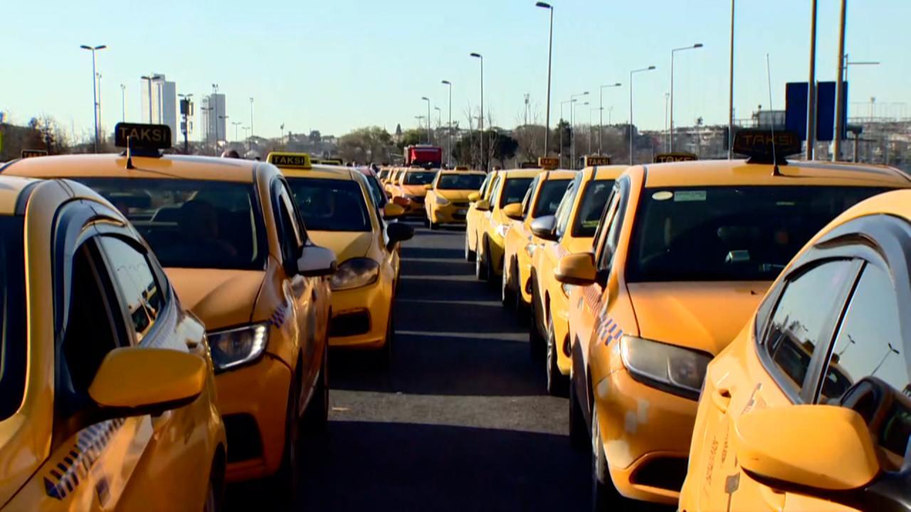 İstanbul'da taksilere kameralı takip