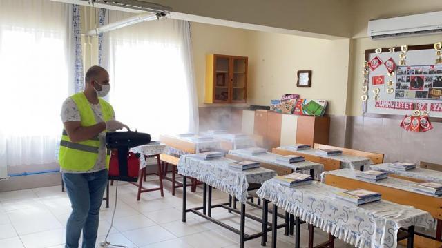 Samandağda okullar yeni eğitim öğretim yılına hazırlanıyor