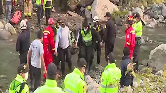 Perudaki kazada ölenlerin sayısı 33e yükseldi