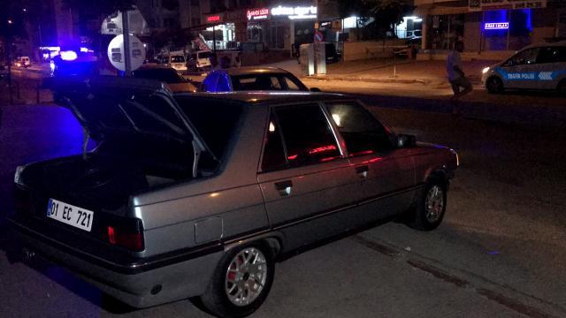 Adanada polisten kaçmaya çalışan şüpheli kaza yapınca yakalandı