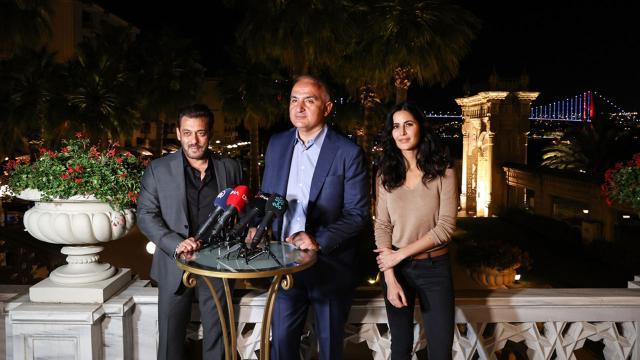 Bollywood yıldızları film çekimi için Türkiyede