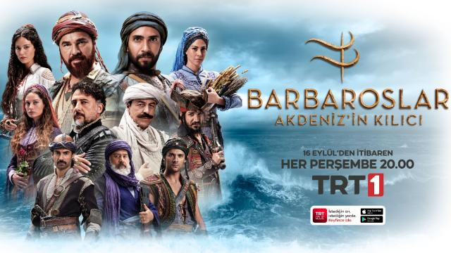 'Barbaroslar Akdeniz'in Kılıcı'nın afişi yayımlandı
