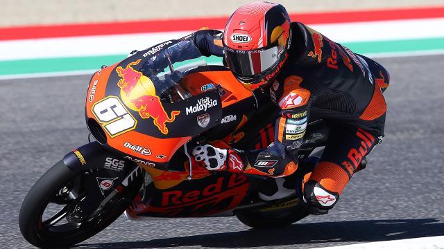 Milli motosikletçi Can Öncü İspanyada 5. oldu