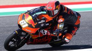 Milli motosikletçi Can Öncü İspanya'da 5. oldu