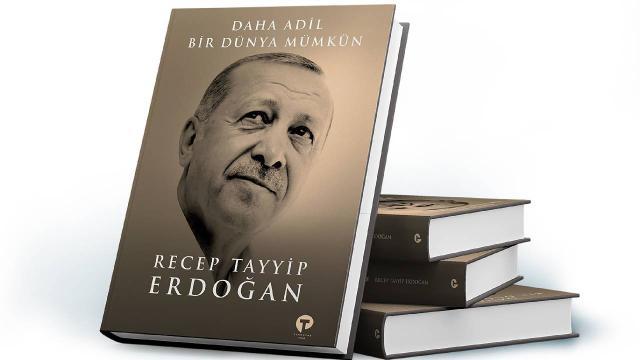 Cumhurbaşkanı Erdoğan kitabını dünya liderlerine takdim edecek
