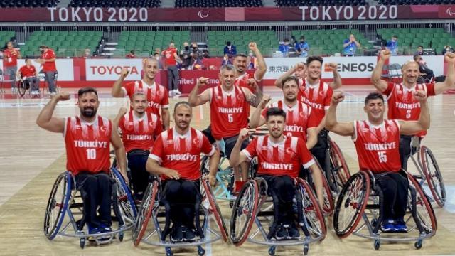 Erkekler tekerlekli sandalye basketbolda Türkiye altıncı oldu