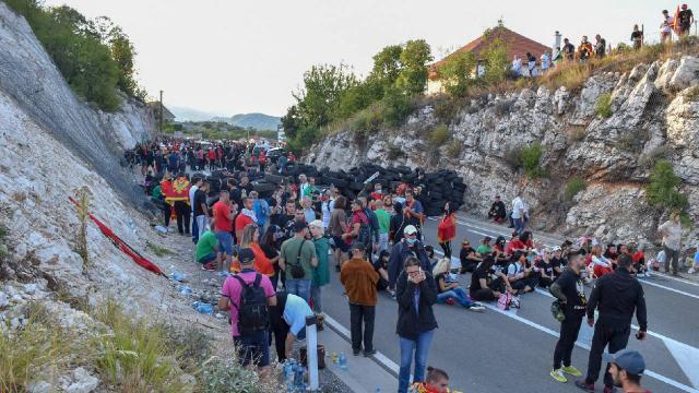 """Karadağın Cetinje şehrinde """"taht töreni"""" gerginliği artıyor"""