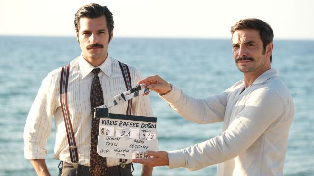 'Kıbrıs Zafere Doğru'nda çekimler başladı