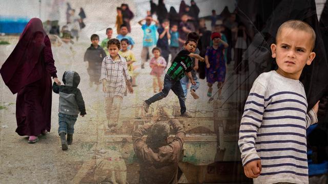 Terör örgütü PKK/YPGnin elindeki kamplar: Büyüyen insani kriz