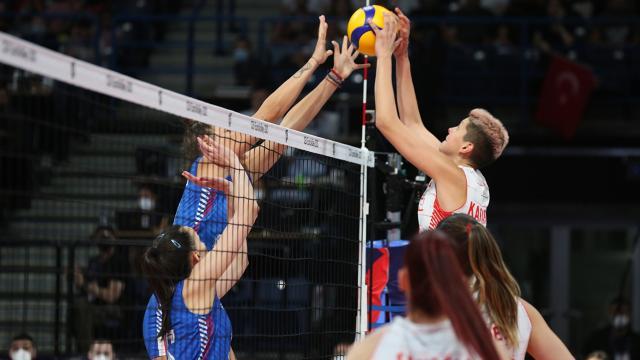 A Milli Kadın Voleybol Takımı Sırbistana yenildi