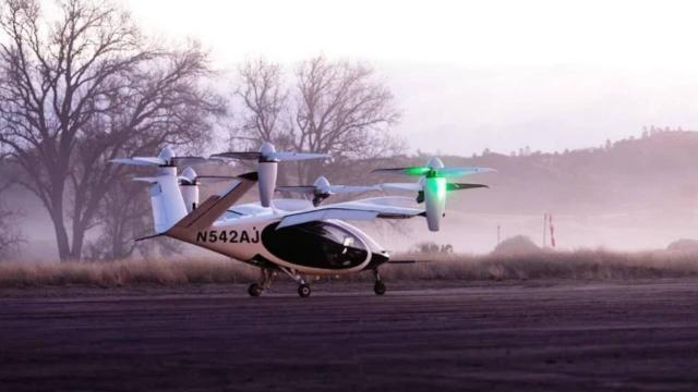 Uçan taksinin deneme uçuşları başladı