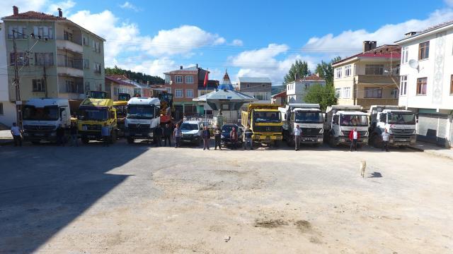 Karabük İl Özel İdaresi ekipleri selden zarar gören Kastamonuda çalışmalarını tamamladı