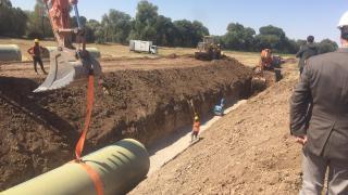 Boğazlıyan Uzunlu Barajı kapalı basınçlı sistemle 80 bin dekar araziyi sulayacak