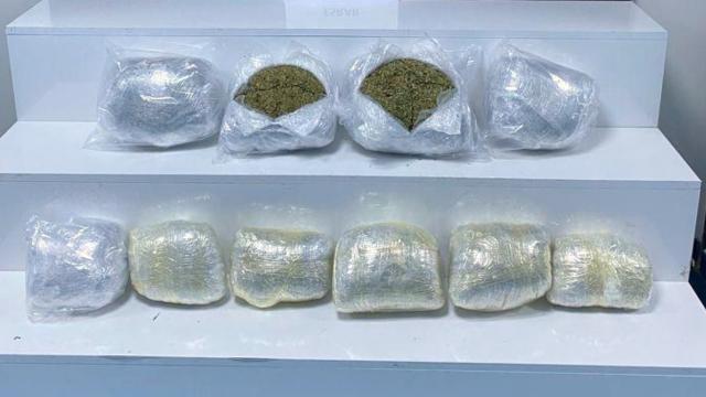 Otomobilde 7 kilo uyuşturucu ele geçirildi